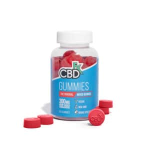 Mixed Berry Gummies (60ct) – 300mg CBD – CBDfx