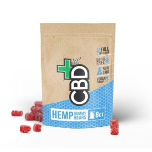 Hemp Gummies (8ct) – 40mg CBD – CBDfx