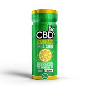 Lemonade Chill Shot – 20mg CBD – CBDfx