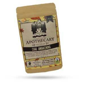 Brothers Apothecary 60mg CBD Chai Awakening Tea (3 Pack)