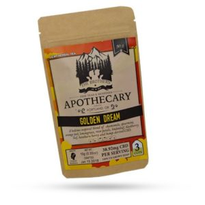 Brothers Apothecary 60mg CBD Golden Dream Tea (3 Pouches)