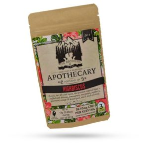 Brothers Apothecary 60mg CBD Highbiscus Tea (3 Pack)