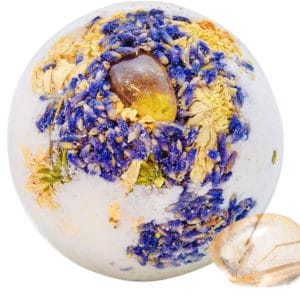 Crystal Vision CBD Bath Bomb – 50mg CBD – Lifeflower