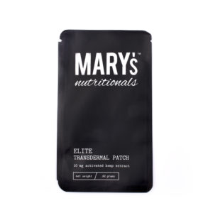 Elite Patch – 10mg CBD – Mary's Nutritionals