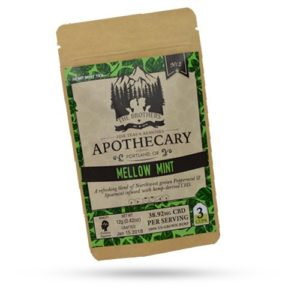 Brothers Apothecary 60mg CBD Mellow Mint Tea (3 Pack)