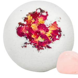 Aphrodite Bath Bomb – 50mg CBD – Lifeflower