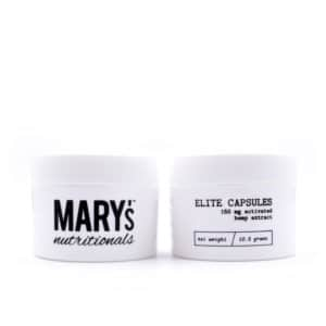 CBD Elite Capsules – 150mg CBD – Mary's Nutritionals
