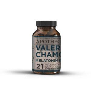 Sleep Aid | CBD + Valerian, Chamomile, Skull Cap & Melatonin (21ct)