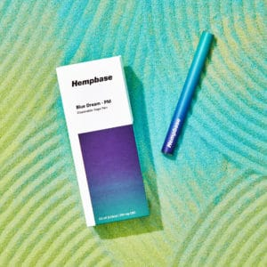 Blue Dream – PM Disposable Vape Pen – 200mg CBD – Hempbase