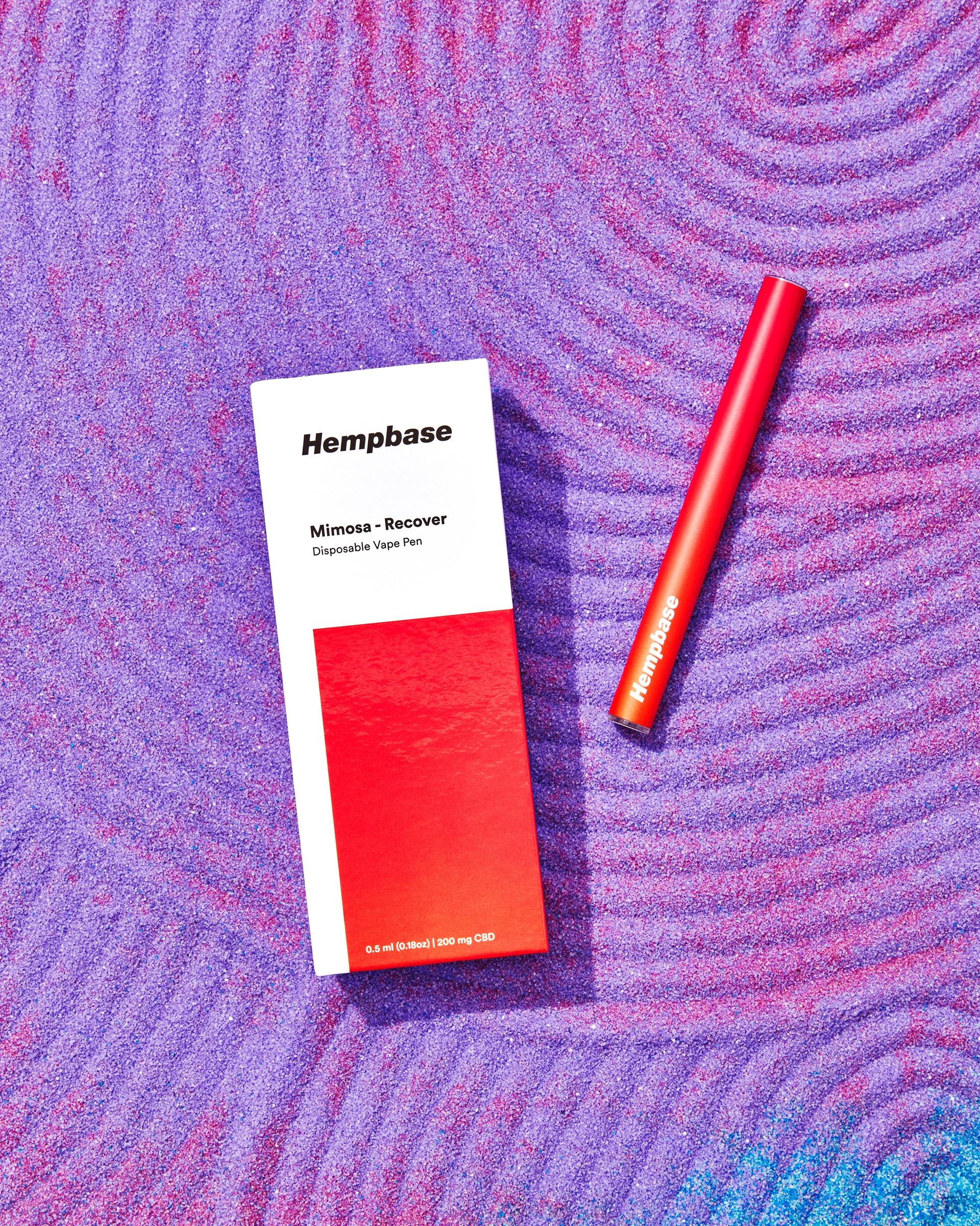 Mimosa-Recover Disposable Pen - 200mg CBD - Hempbase