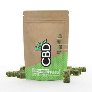 8ct CBD Green Vegan Gummies by CBDfx 40mg