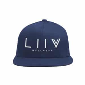 LIIV Hat (Navy Blue SnapBack)