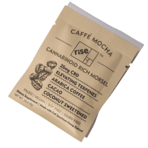 Caffe Mocha 25mg CBD Morsel by Rise Relief (5 Pack)