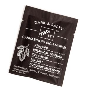 Dark & Salty 25mg CBD Morsel by Kefla (5 Pack)