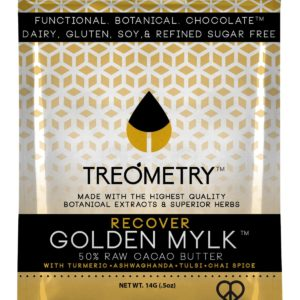Treometry- Golden Mylk Turmeric Ayurvedic Chocolate