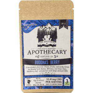 Brothers Apothecary 60mg CBD Buddha's Berry Tea (3 Pack)