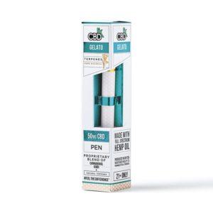 CBDfx 50mg Gelato Disposable Vape Pen