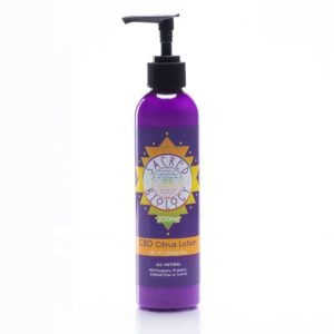 All Natural Citrus CBD Lotion 200mg by Sacred Biology