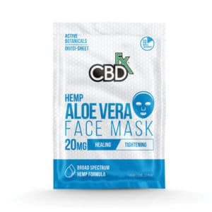 Aloe Vera CBD Face Mask by CBDfx (3 Pack)