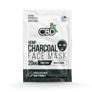 Charcoal CBD Face mask by CBDfx (3 Pack)