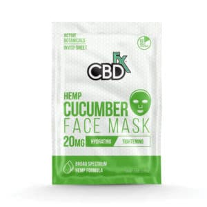 Cucumber CBD Face Mask by CBDfx (3 Pack)