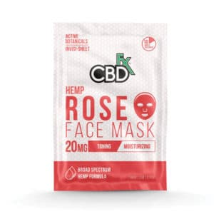 Rose CBD Face Mask by CBDfx