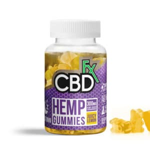 CBDfx 300mg Sleep Gummies 60ct (Juicy Lemon)