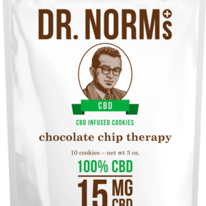 Chocolate Chip CBD Cookies by Dr. Norms (Moist + Delicious)