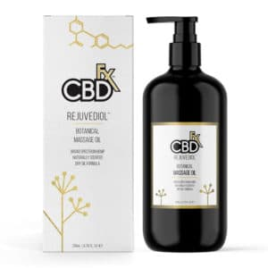 Botanical Spa CBD Massage Oil by CBDfx