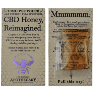 Brother's Apothecary 10mg CBD Organic Lavender Honey (3 Pack)