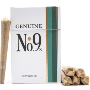 Genuine No.9's Hemp Pre Rolls (6 Pack + Match Box)