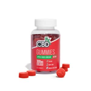 CBDfx 300mg Apple Cider Vinegar Gummies (60ct)