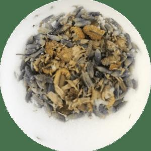 Chamomile Lavender 50mg CBD Bath Bomb by LIIV Organics (2 Pack)