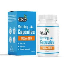 CBDfx Morning 900mg CBD + CBG