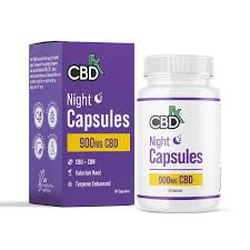 CBDfx 900mg CBD + CBN Sleep Capsules