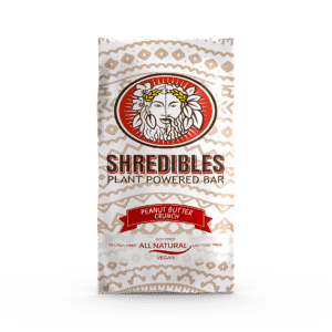 Peanut Butter Crunch Plant Based Protein Bar by Shredibles (12 Pack)