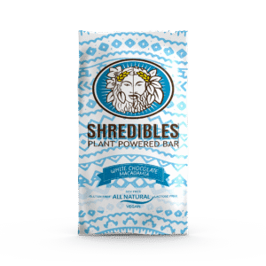 White Chocolate Macadamia Plant Based Protein Bar by Shredibles (12 Pack)