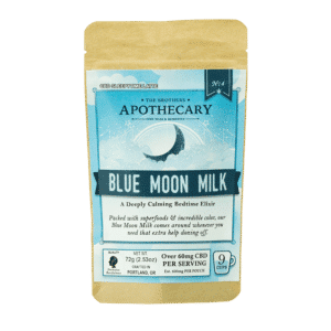 Blue Moon Milk – CBD Sleep Latte by Brother's Apothecary (Large Size)