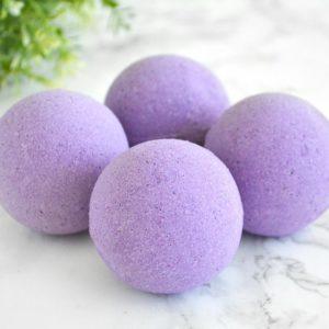 100mg CBD Sleep Bath Bomb by LIIV Organics- Lavender + Peppermint (2 Pack)